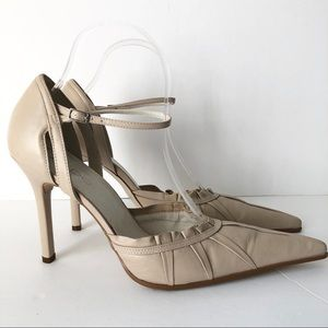 Aldo Pointed Toe Nude Heels